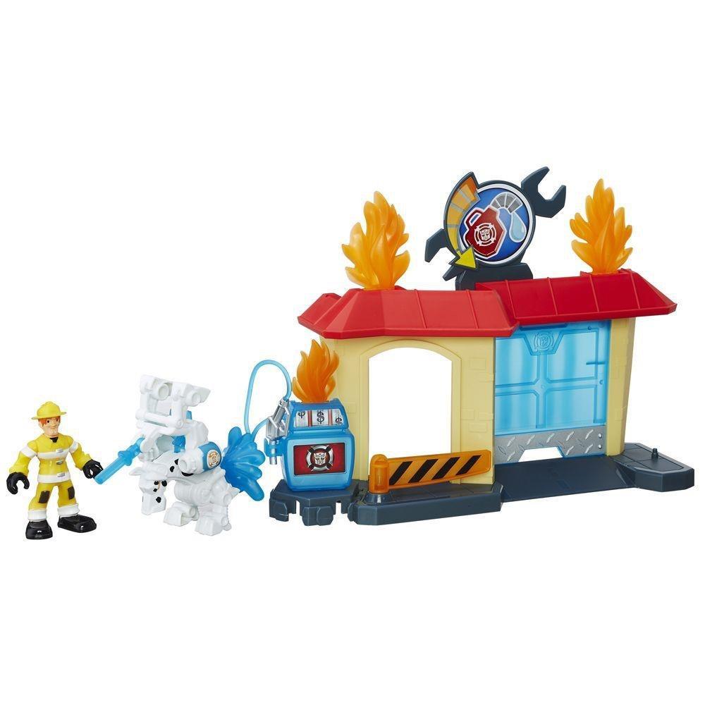 Transformers Rescue Bots Garagem De Griffin Rock - Hasbro B4963