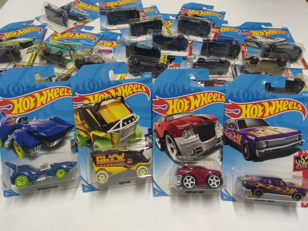 Hot Wheels Caixa Com 72 Carrinhos Mattel C4982-c