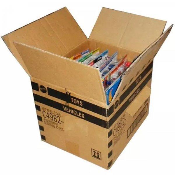 Hot Wheels Caixa Com 36 Carrinhos Sem Repetição Mattel C4982-c36