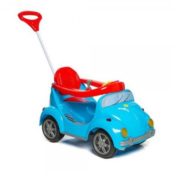 Carrinho De Passeio Com Pedal Fouks Azul - Calesita 998