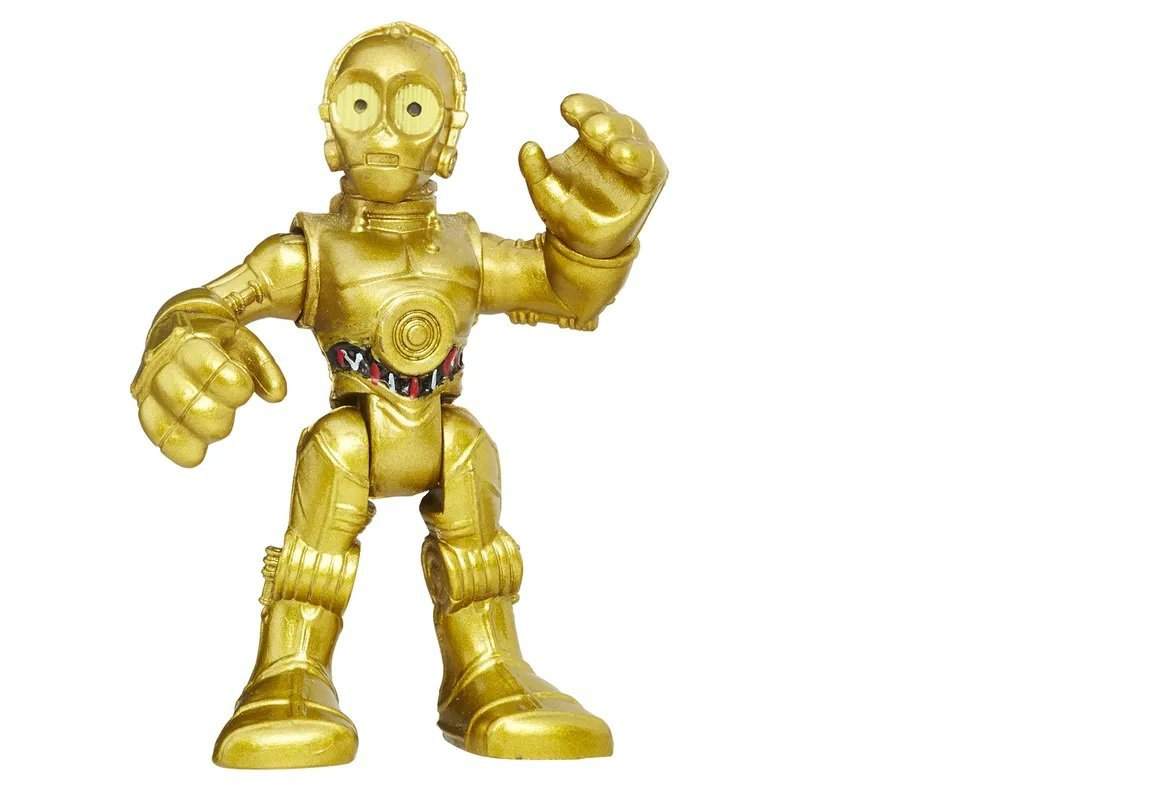 Boneco Star Wars Mini C-3p8 Playskool - Hasbro B8320