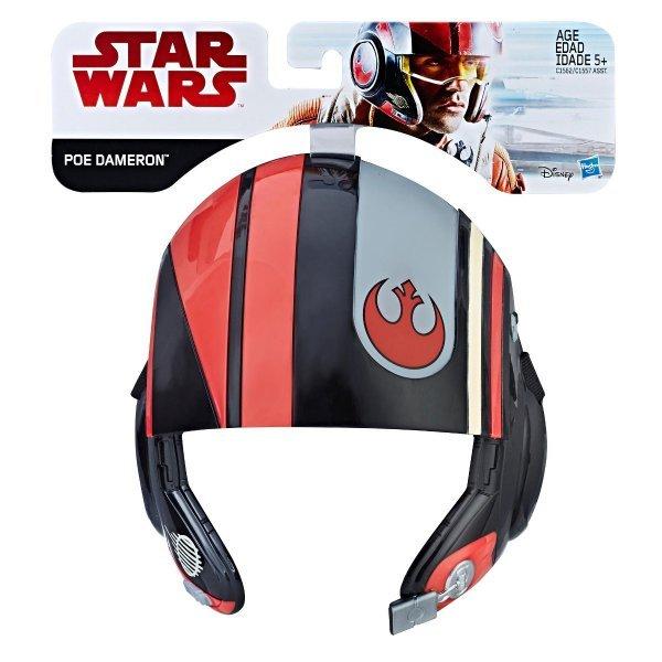 Máscara Star Wars Poe Dameron Os Últimos Jedi Star Wars - Hasbro C1562