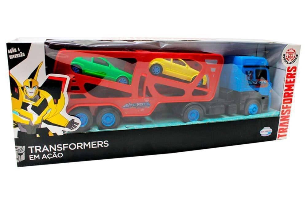Caminhão Cegonheira Tork Transformers - Multibrink 1000340