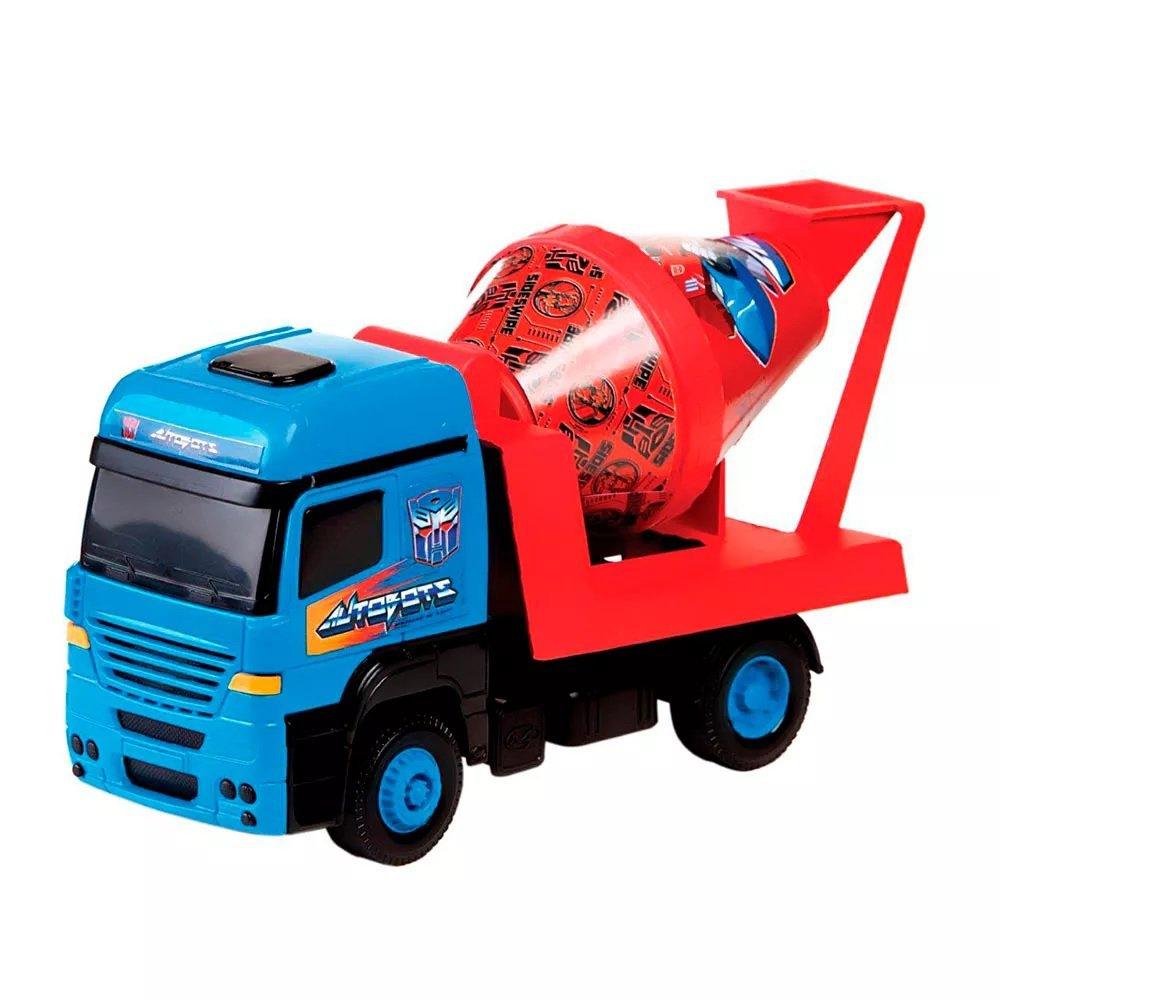 Caminhão Betoneira Tork Transformers - Multibrik 1000240