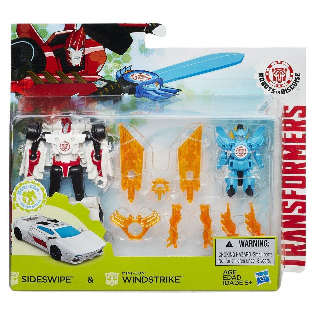 Transformers Robots In Disguise Sideswipe & Windstrike - Hasbro B7677