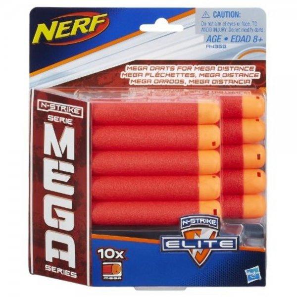 REFIL NERF MEGA 10 DARDOS - HASBRO  A4368