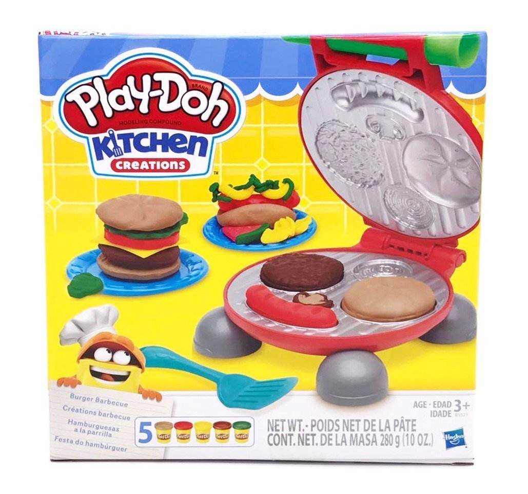 Massinha Play-doh Festa Do Hambúrguer - Hasbro B5521
