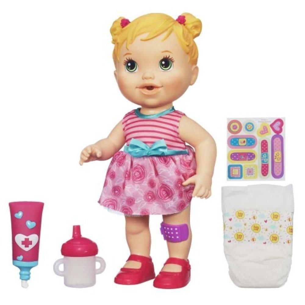 Boneca Baby Alive Machucadinho Loira - Hasbro A5390