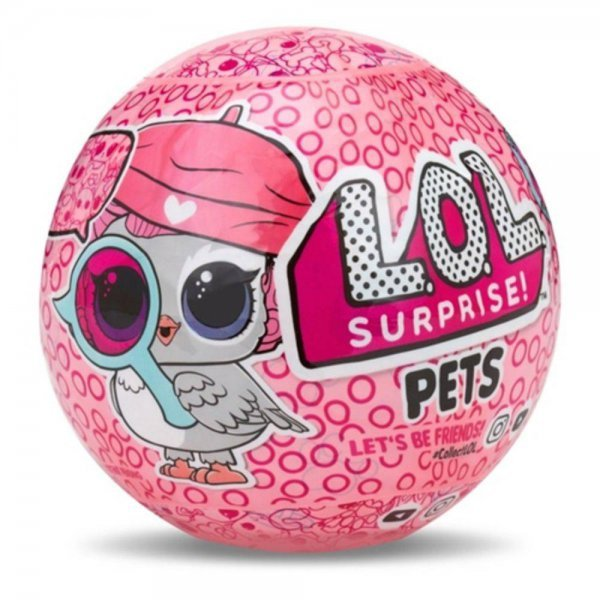 Boneca Lol Pets Eye Spy 7 Surpresas - Candide 8905