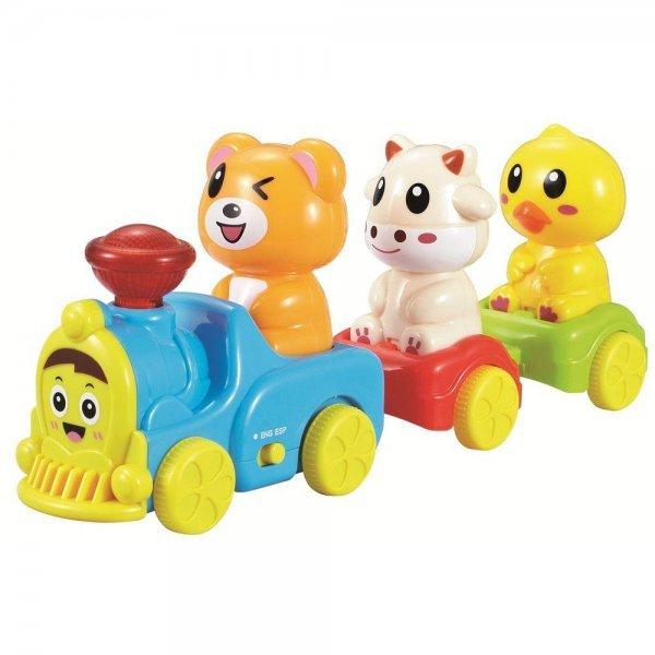 Trenzinho Bilingue - Zoop Toys Zp00120