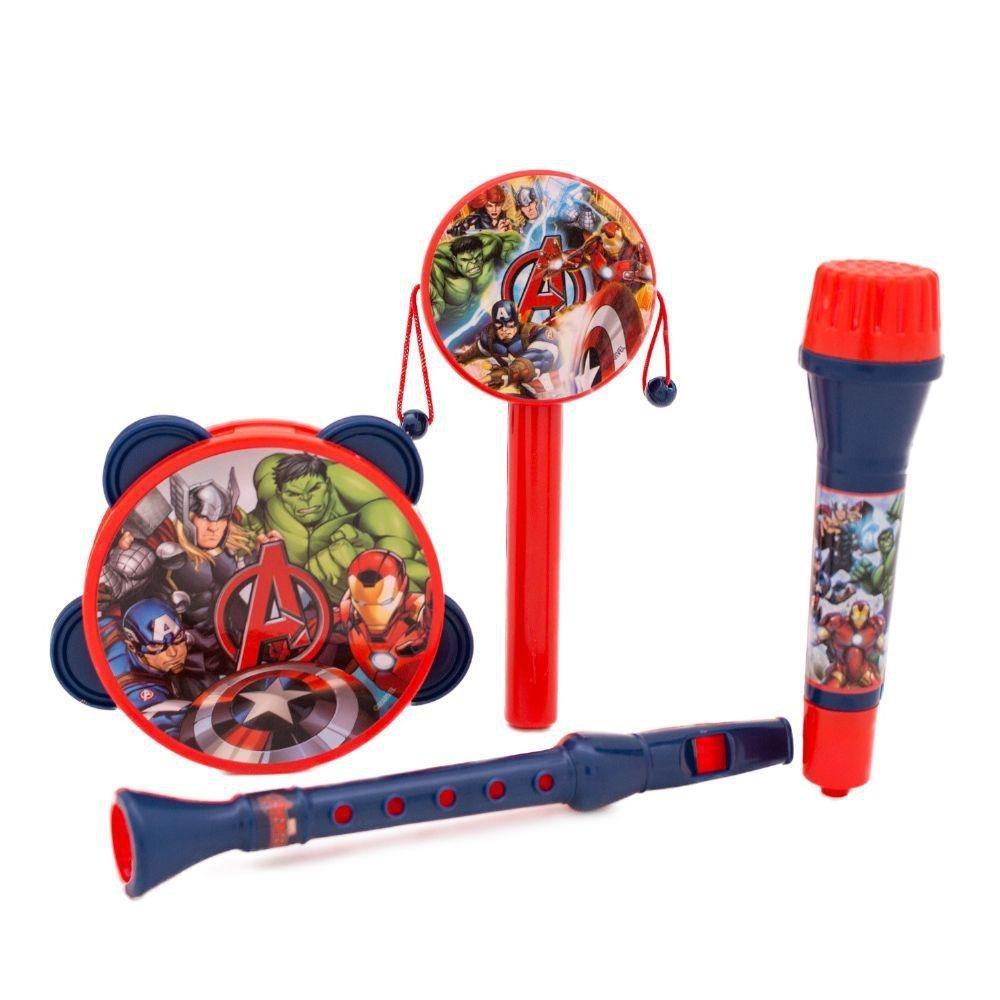 Kit Instrumentos Musicais Avengers - Toyng 33406
