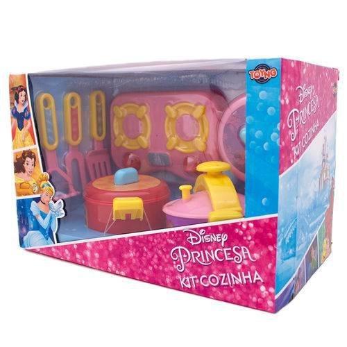 Jogo De Cozinha Fogão E Panelas Princesas - Toyng 32053
