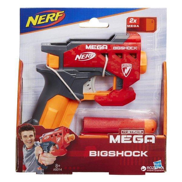 Lança Dardo Nerf Mega Big Shot - Hasbro