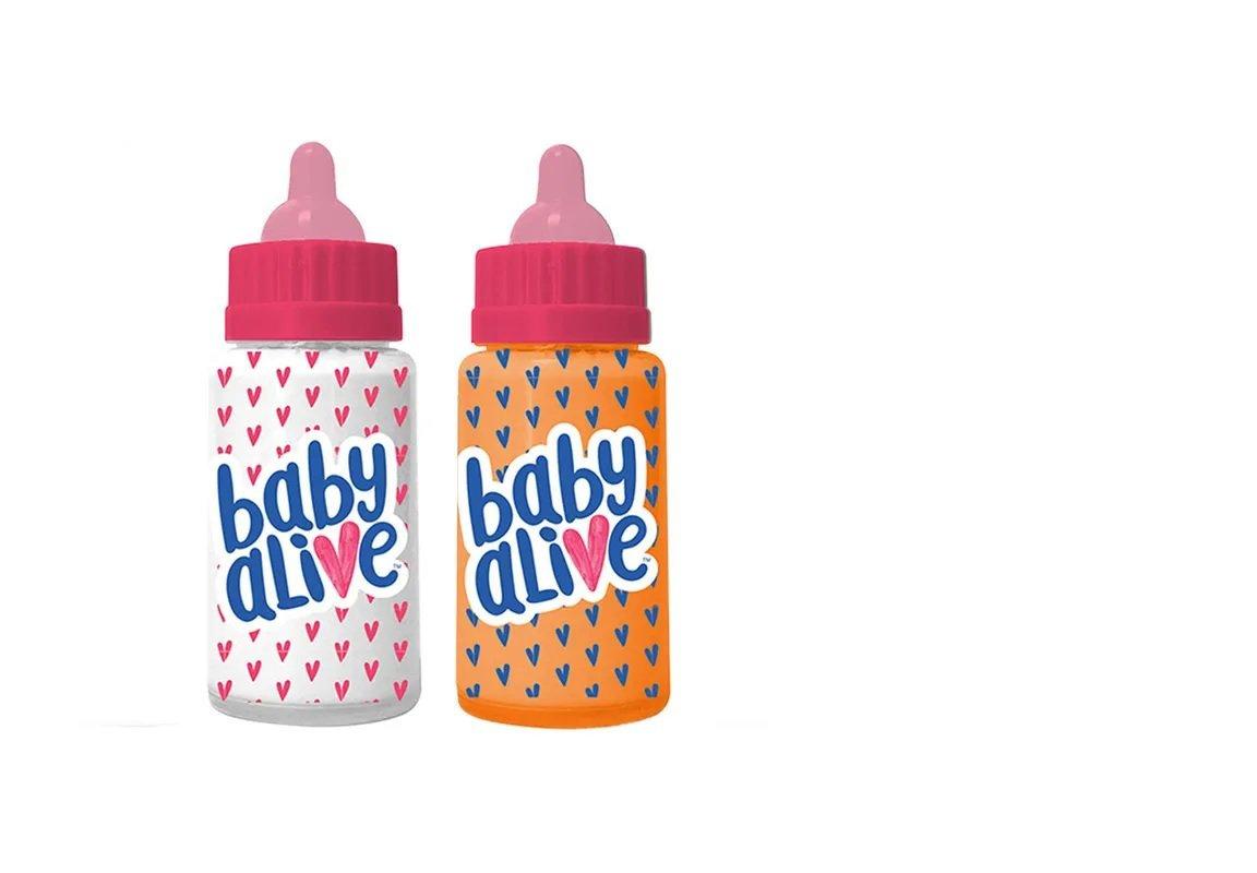 Kit Com 2 Mamadeiras Magica Baby Alive - Toyng 35848