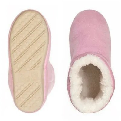 Pantufa Bota Infantil Montana Colors Rosa 21/22 - Ricsen 13813