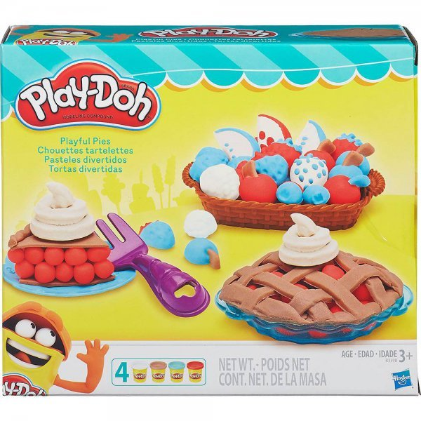 Massinha Play-doh Tortas Divertidas - Hasbro B3398