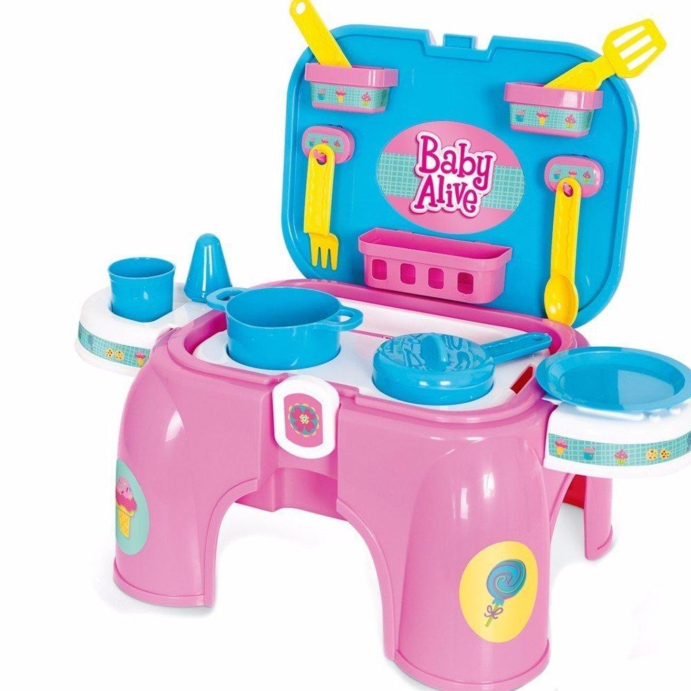Kit Cozinha Baby Alive Pequena - Hasbro 2058