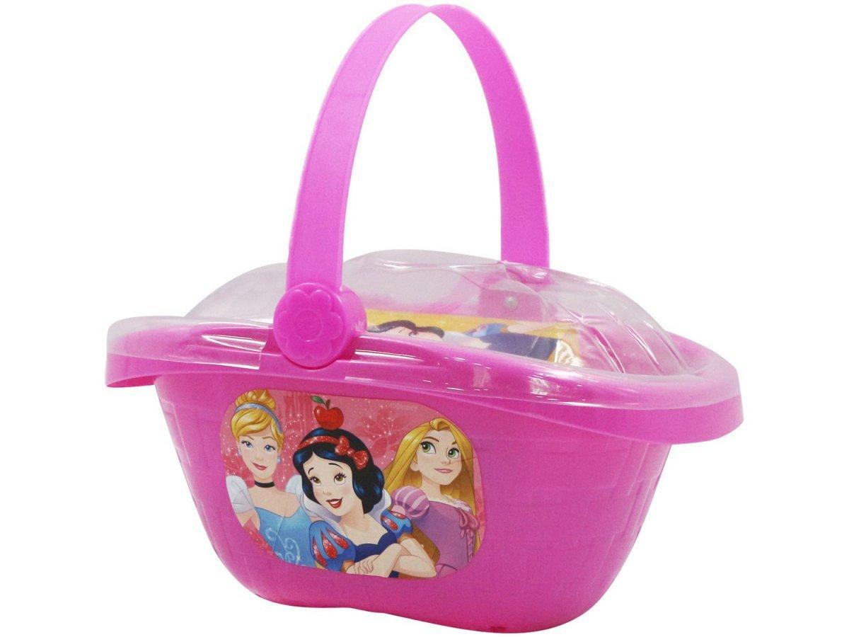 Kit Cestinha De Picnic Princesas Com Acessórios - Toyng 32196