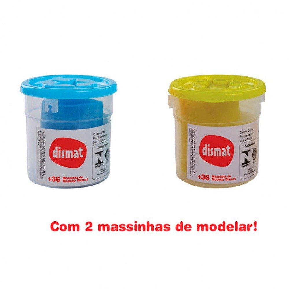 Mini Fábrica Massinha De Modelar - Dismat Mk339