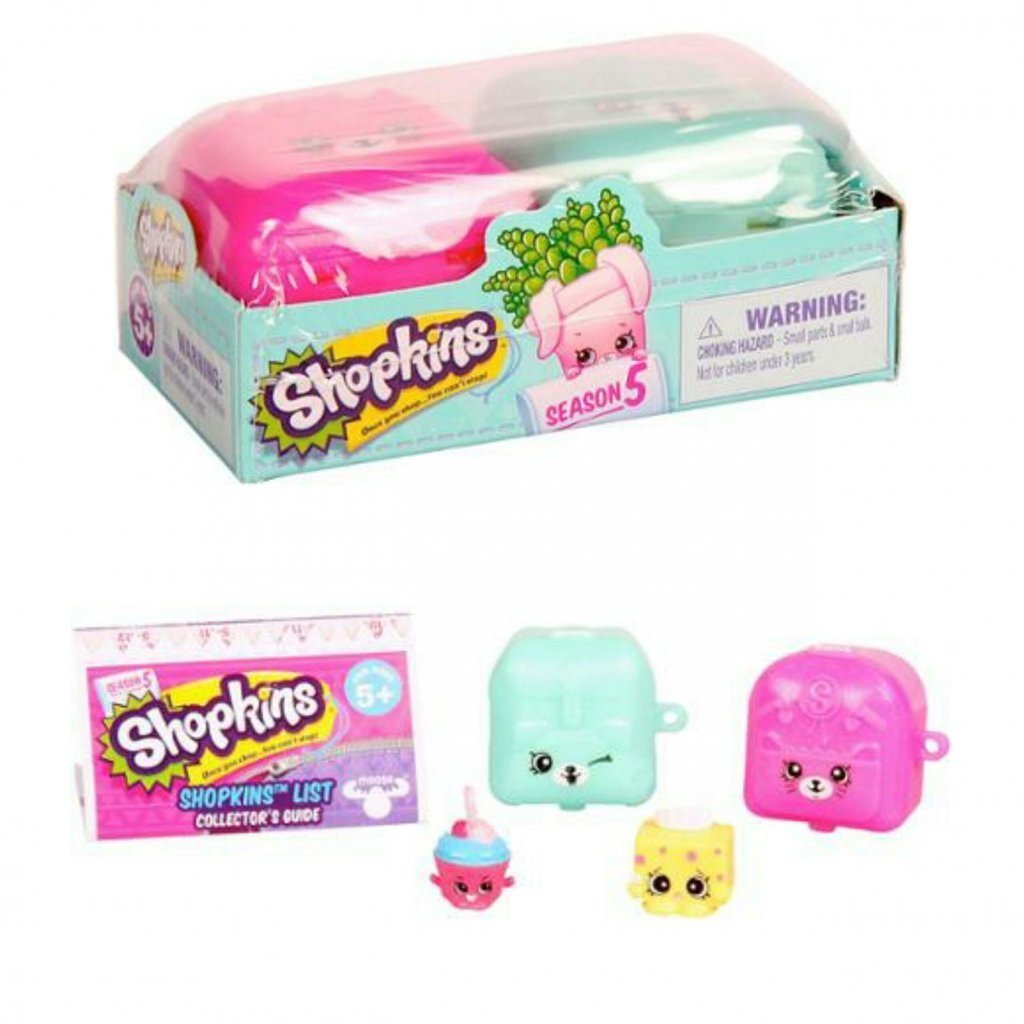 Kit Shopkins Cestas - Dtc 3580