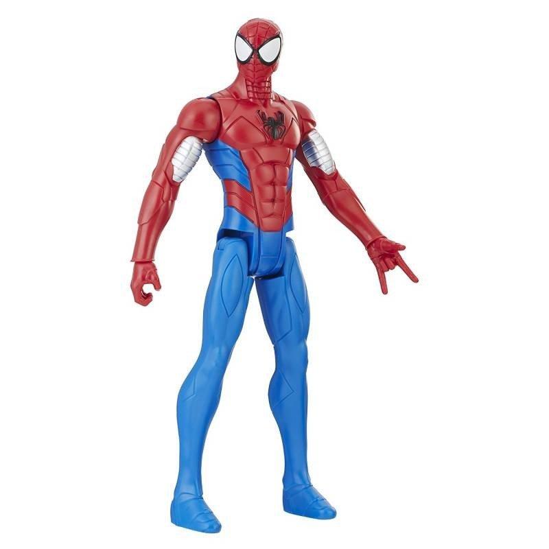 Boneco Armored 30cm Homem Aranha Marvel - Hasbro E2343