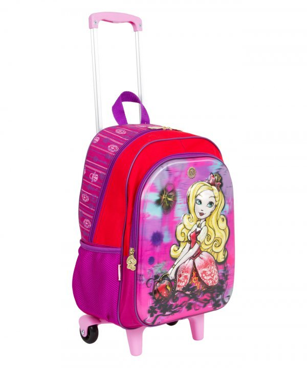 Mochila De Rodinhas Grande Ever After High - Sestine