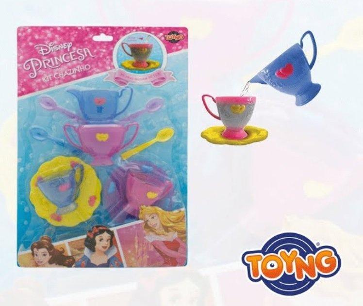 Jogo De Chá Princesas Muda De Cor - Toyng 30051