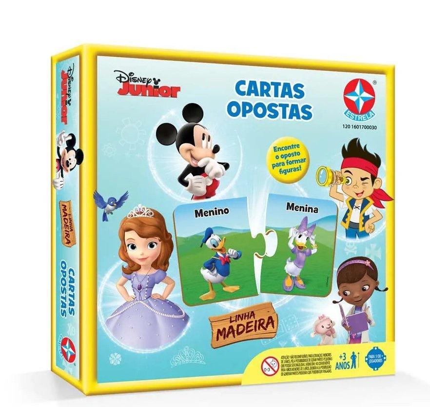 Quebra Cabeca Disney Madeira - Estrela 1700022