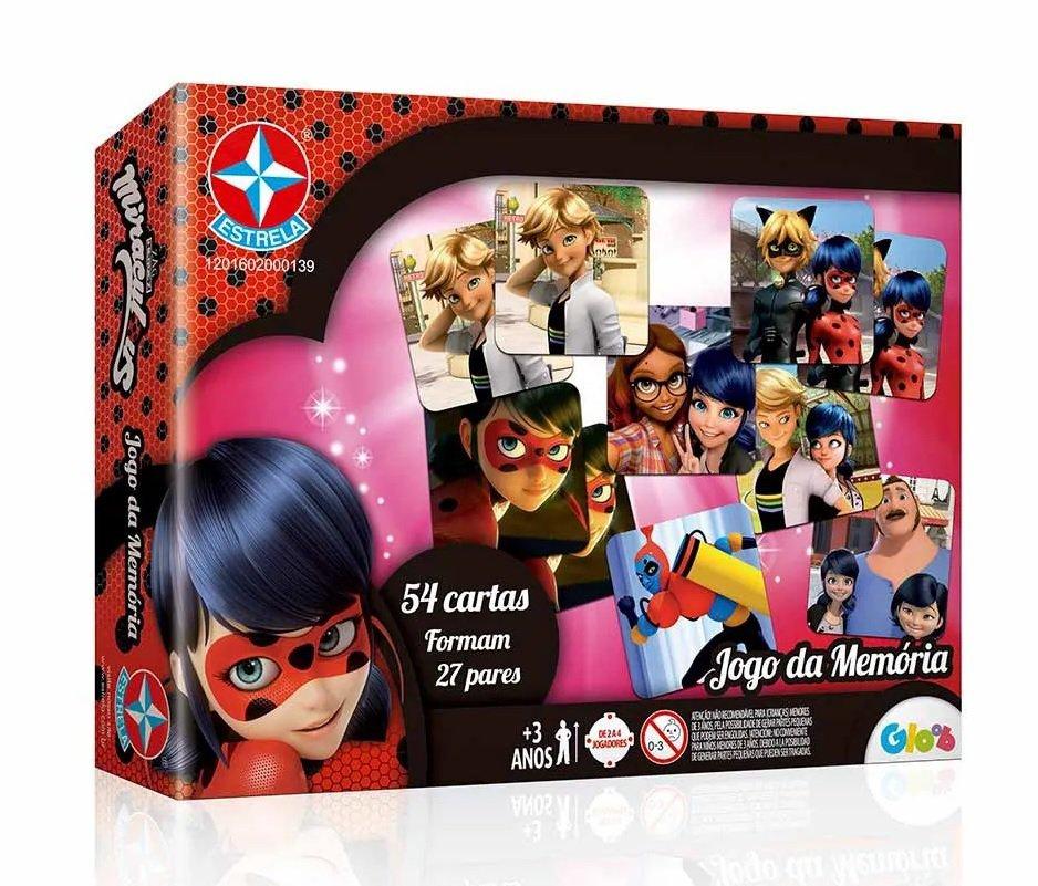 Jogo Da Memória Lady Bug - Estrela 2000139
