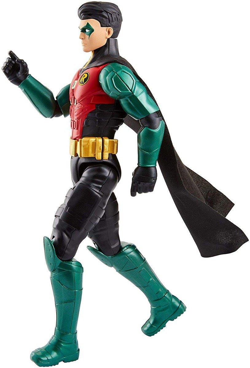 Boneco Robin Batman Missions 30cm Liga Da Justiça - Mattel Fvm71