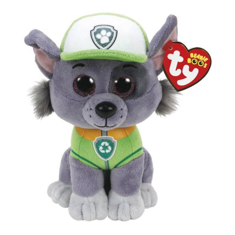 Rocky Pelúcia Patrulha Canina Ty - Dtc 4041