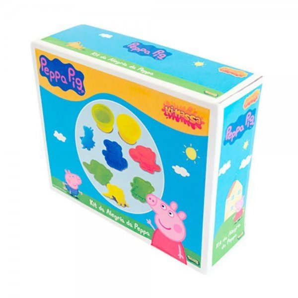 Massinha Ki-massa Kit Da Alegria Peppa Pig - Sunny 1852