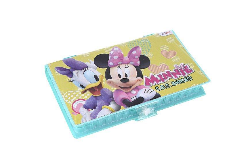 Maleta Para Colorir Minnie Retangular 42 Peças - Etipel Dyp-085