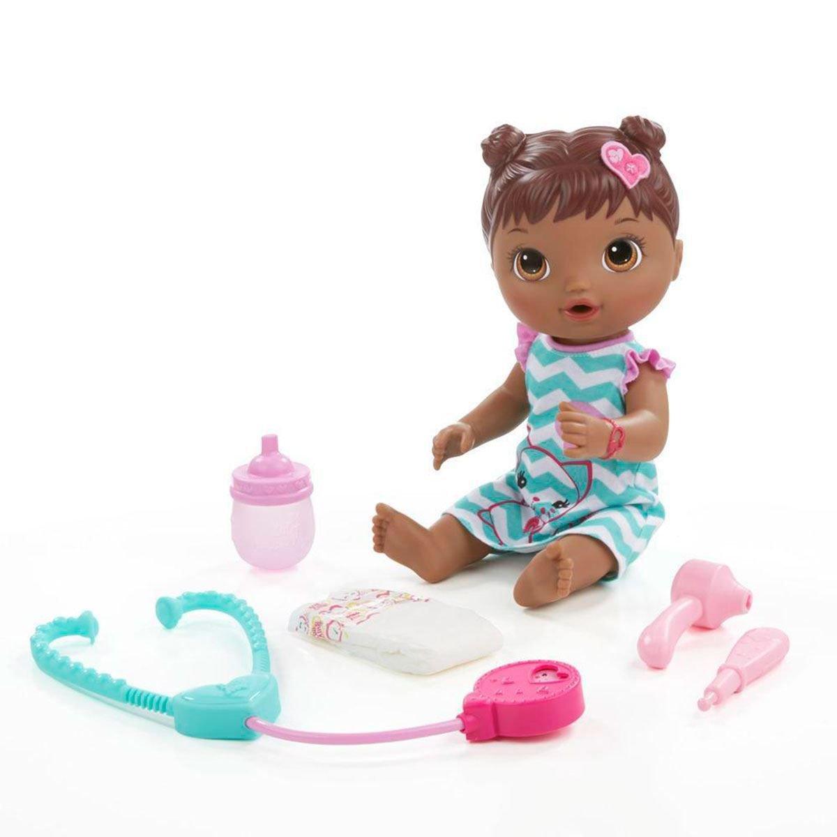 Boneca Baby Alive Cuida De Mim Negra C2693