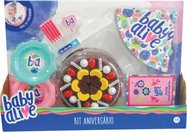 KIT DE ANIVERSÁRIO BABY ALIVE - TOYNG 35892