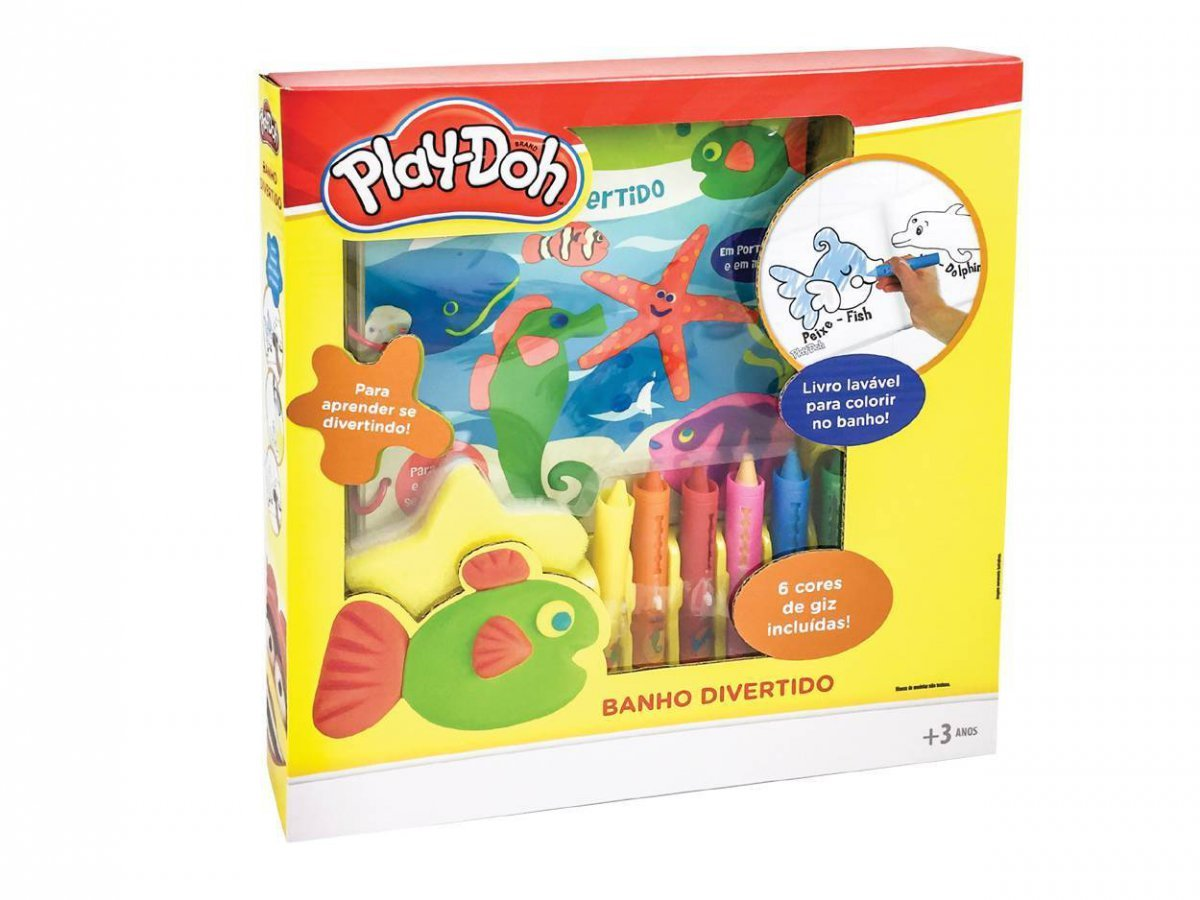 Kit Play Doh Banho Divertido - Dtc 3939