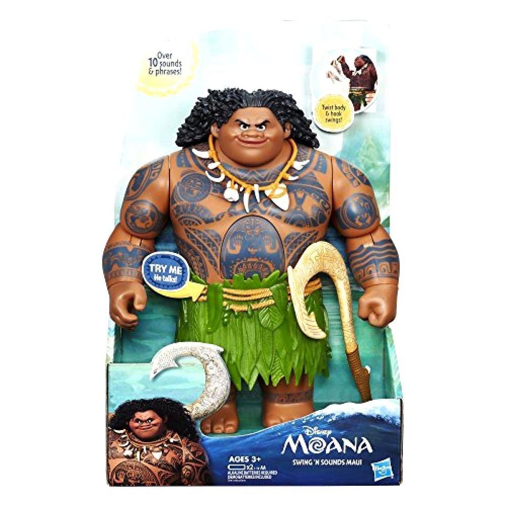 Boneco Maui Moana Eletrônico Articulado Disney - Hasbro B8297