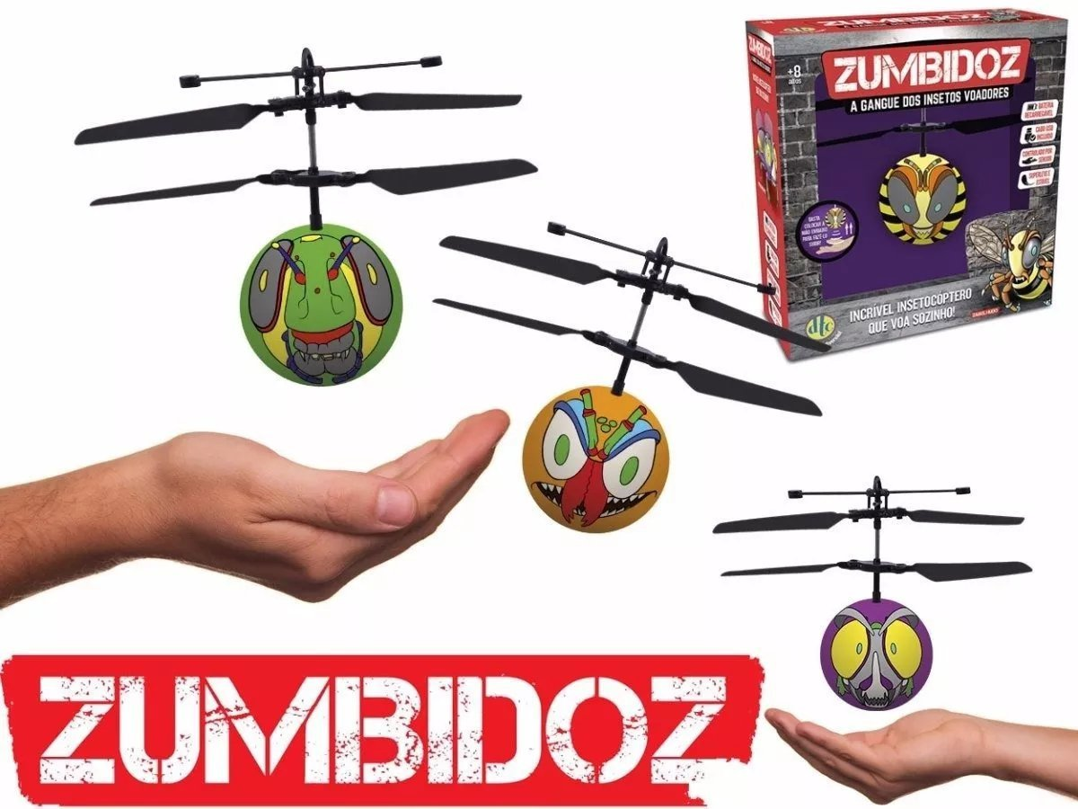 Zumbidoz Insetocóptero Bafanhoto - Dtc 3891