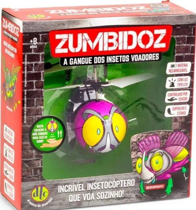 Zumbidoz Insetocóptero Bezourento - Dtc 3891