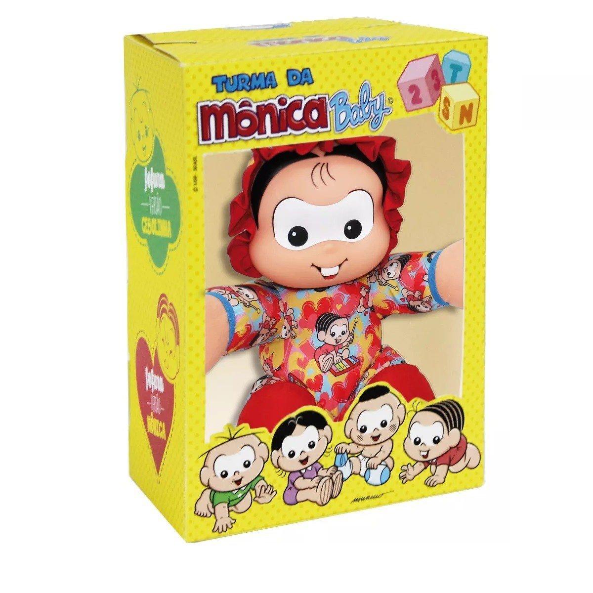 Turma Da Mônica Boneca Mônica Baby - Multtibrink 4240