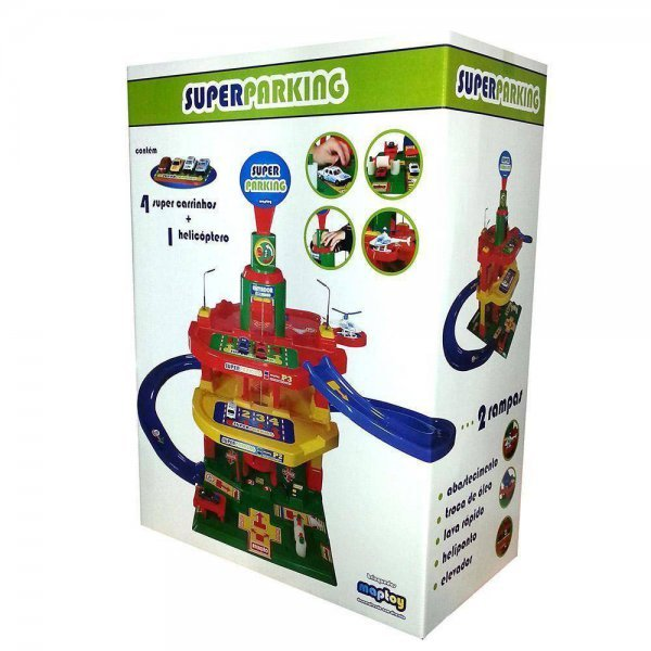 Posto Super Parking - Maptoy 341-0