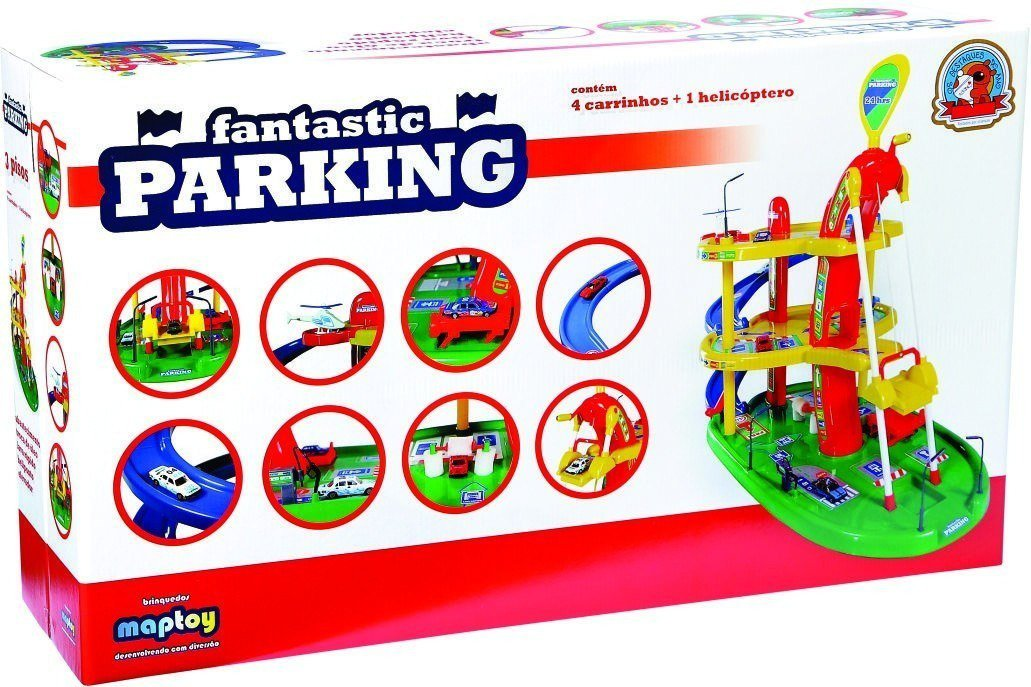 Fantastic Parking Lava Rápido - Maptoy 347-0