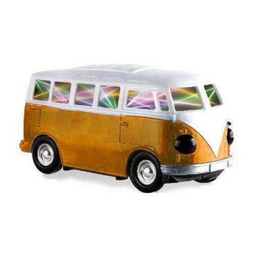 Kombie Amarela Bate E Volta Com E Luzes - Zoop Toys