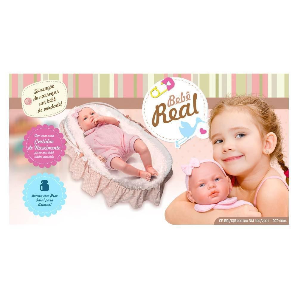 Boneca Bebê Real New Born - Roma 5075