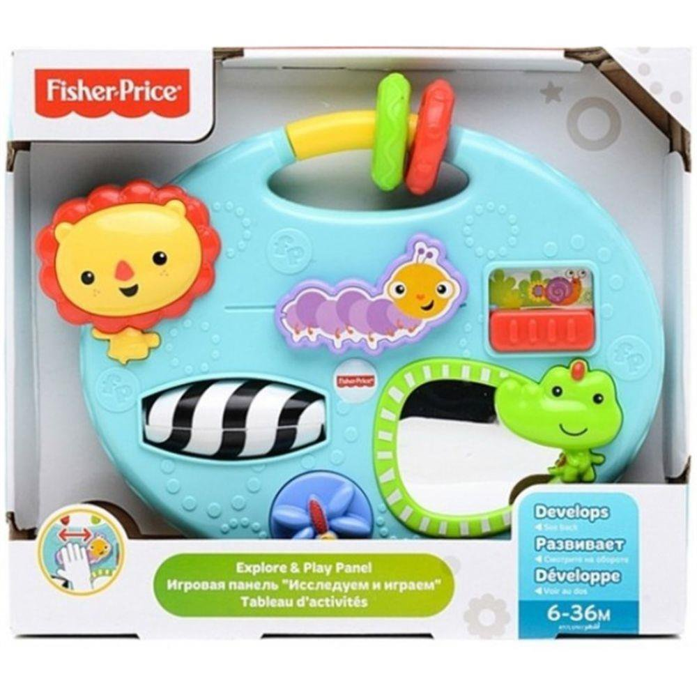 Mini Painel De Atividades Fisher-price - Mattel Cmy39