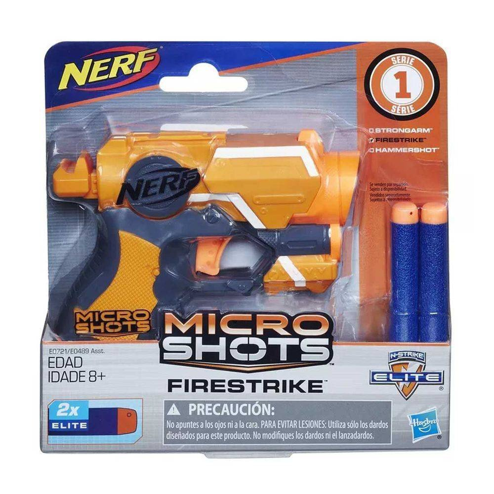 Firestrike Microshots Nerf - Hasbro E0721