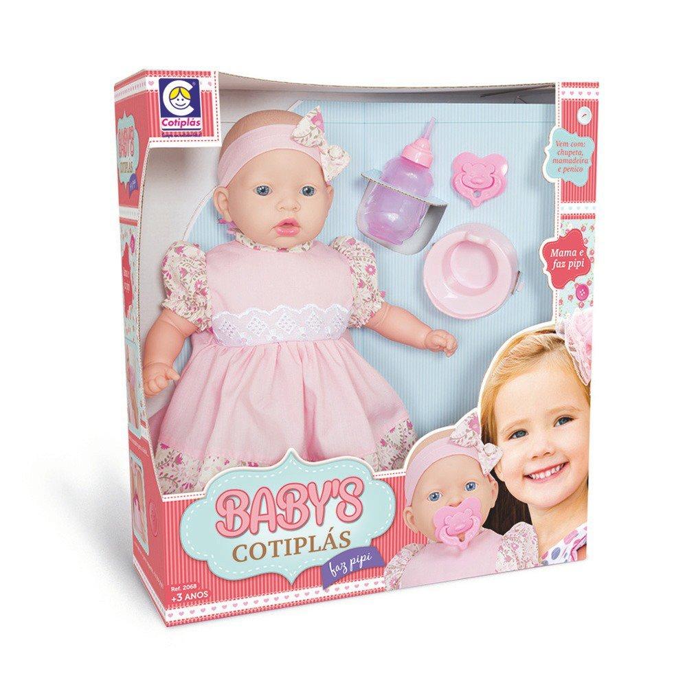Boneca Babys Faz Pipi - Cotiplás 2068