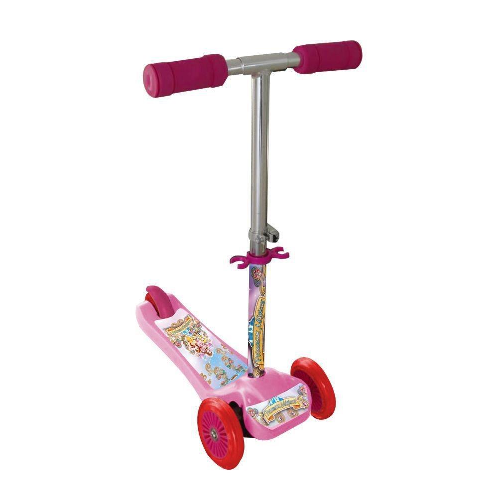Patinete Scooter-net Mini Princesas Rosa - Zoop Toys Zp00103