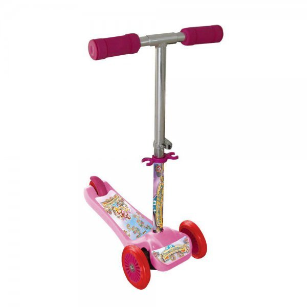 Patinete Scooter-net Mini Princesas Rosa - Zoop Toys