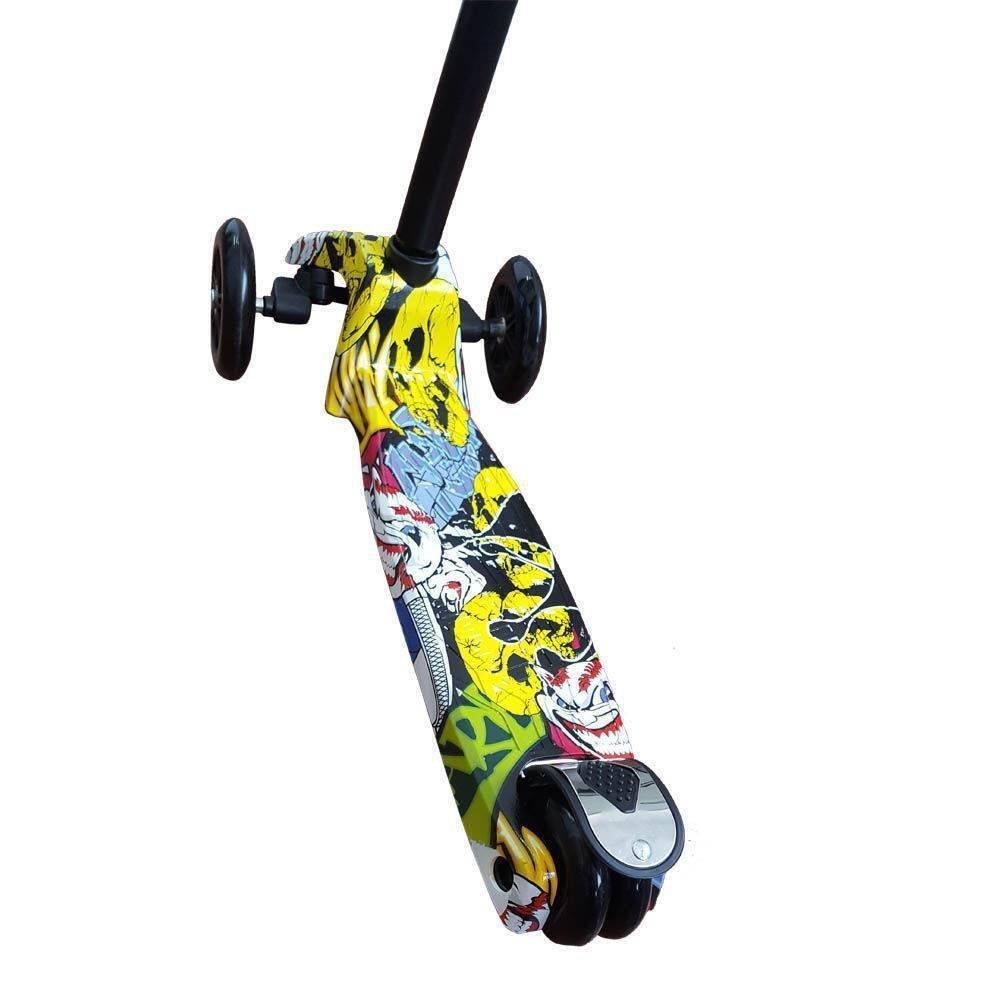 Patinete Scooter Net Max Racing Club Grafitado - Zoop Toys Zp00105